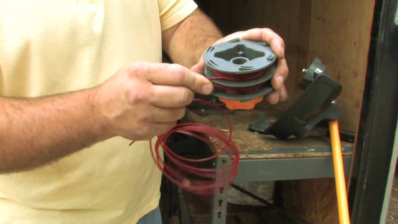How To Replace th Qualcast Strimmer Spool