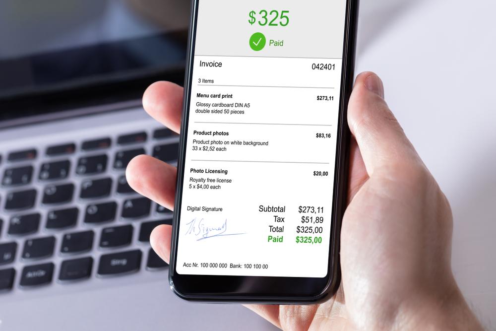 Nota digital dianggap lebih nyaman oleh konsumen.