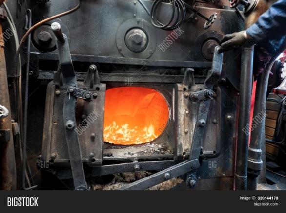 Open Door Furnace Image & Photo (Free Trial) | Bigstock