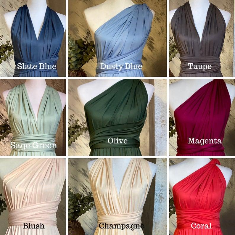 plus-size multiway bridesmaid dresses 3