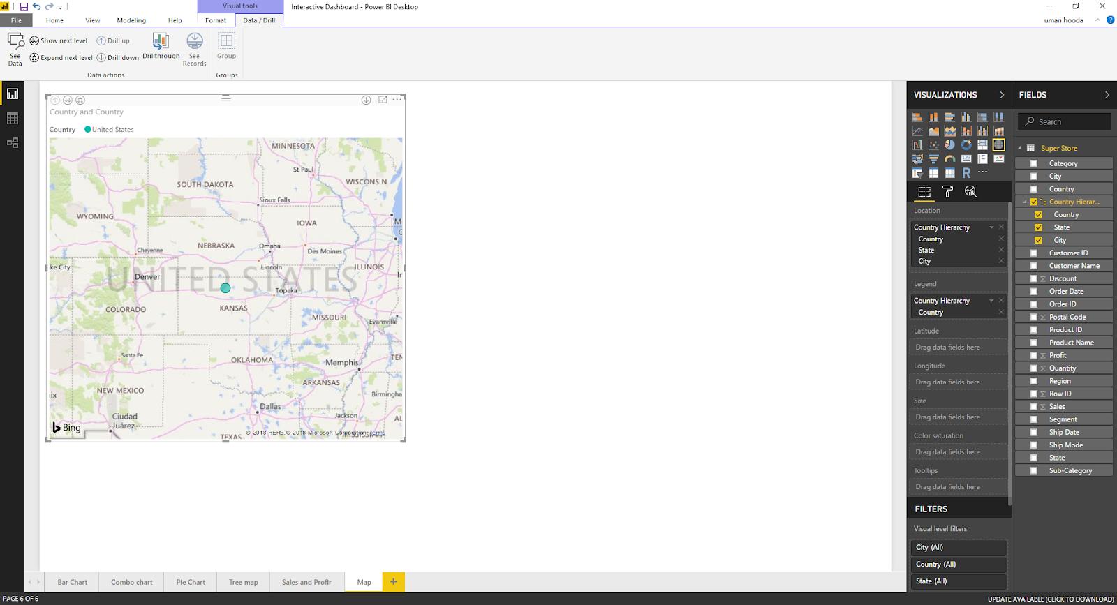 Interactive Dashboard In Microsoft Power BI 51