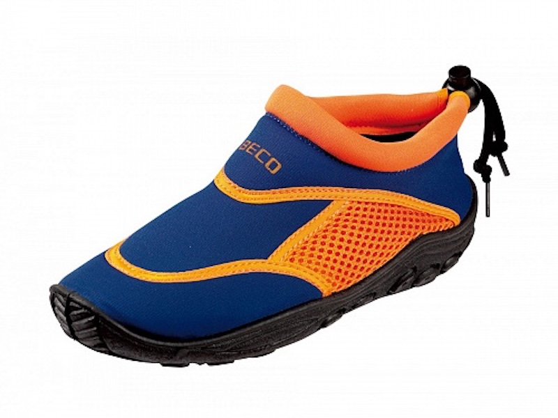 Текстильно-резиновая обувь для пляжа