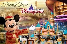 Shenzhen Tour - Hongkong Disneyland
