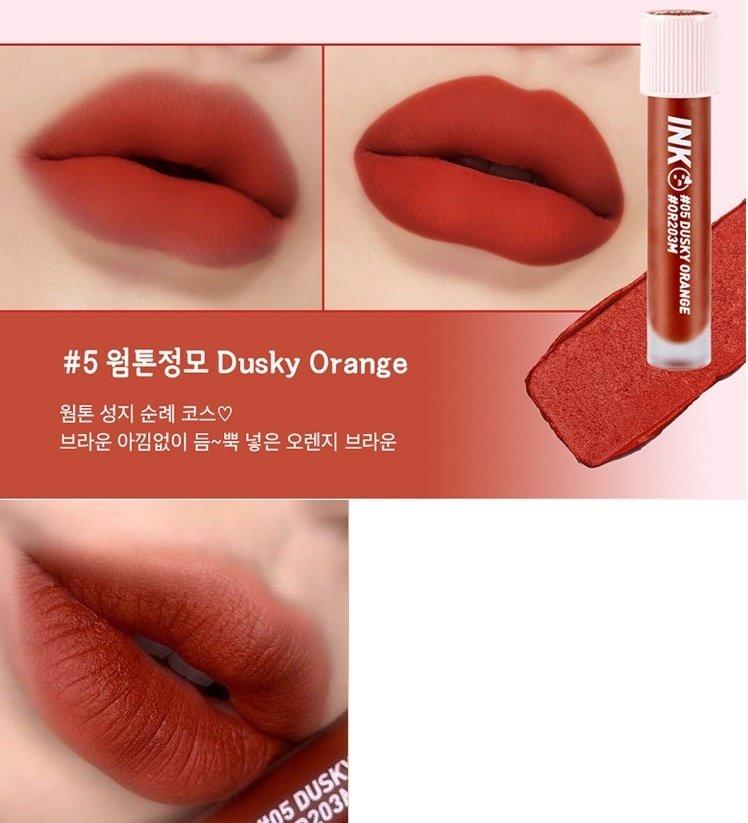 Son môi màu cam