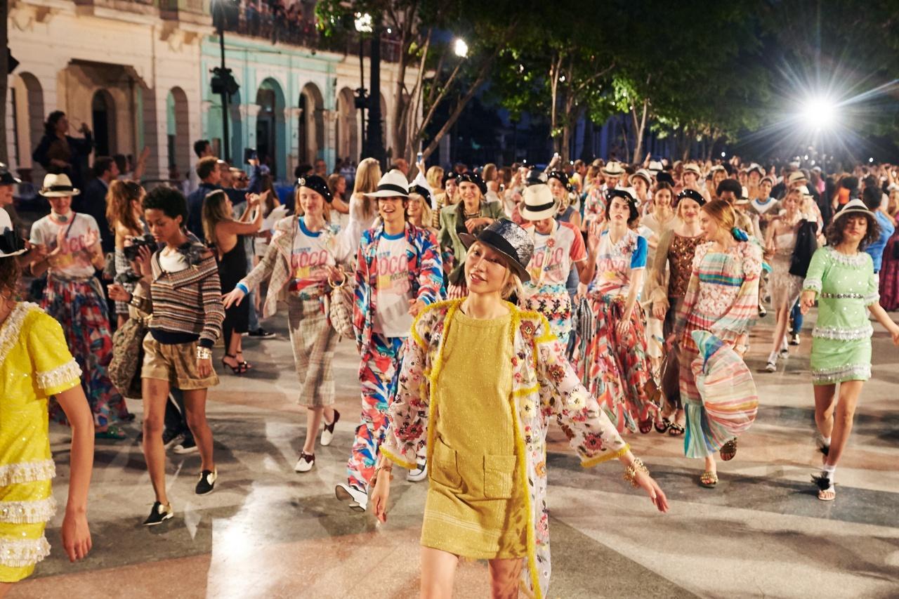能在古巴舉辦Fashion show已不是錢的問題,光是說服古巴政府批准開騷的公關手腕,Chanel已教人佩服。(品牌提供)