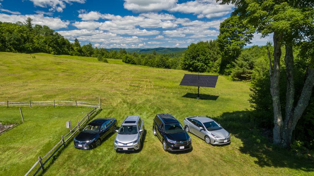 You can use solar to charge your electric vehicle
