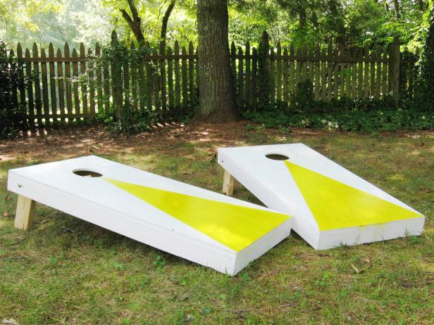Cornhole Set: These will help you make some money.