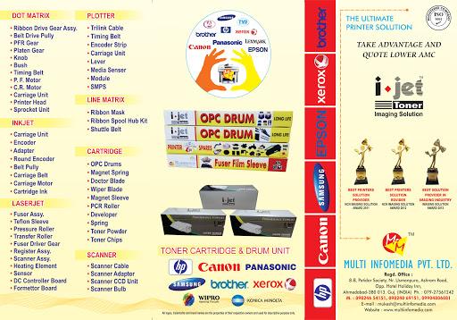 Multi InfoMedia Pvt  Ltd (i-jet) - Toner Cartridge, Toner Powder