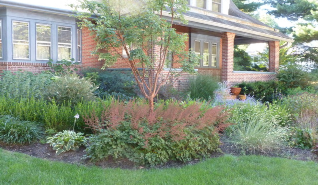 Pennsylvania mixed border landscaping