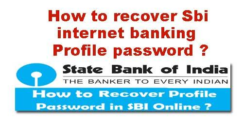 Image result for how to recover sbi password