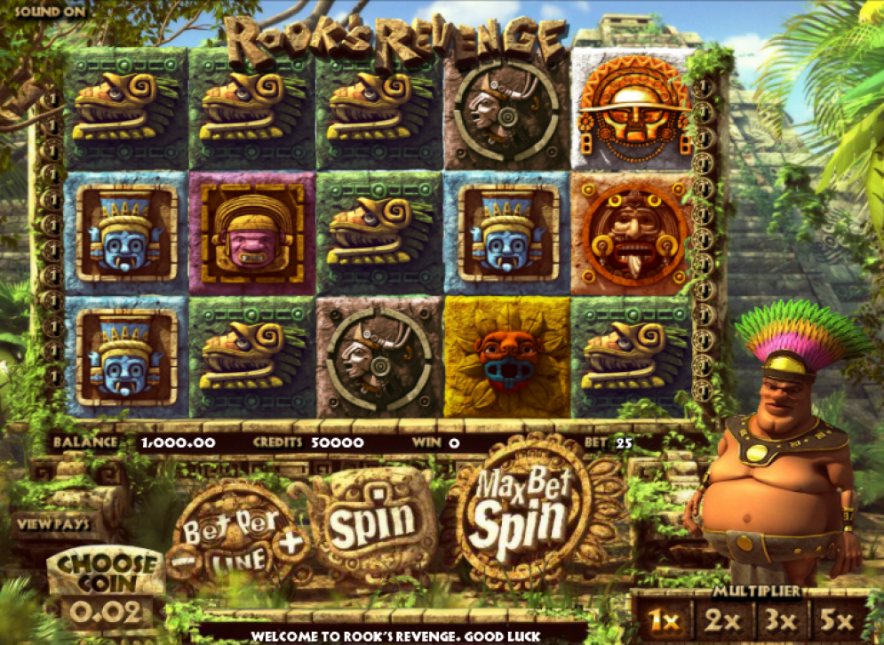 Rook's Revenge slot game review. Play it now at happyluke.com