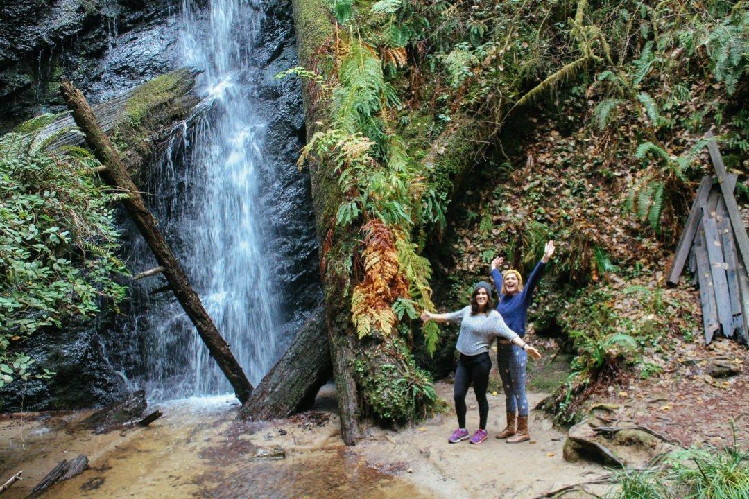 Places to go in California - Russian Gulch State Park