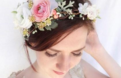Image result for bride with rose crown  painting