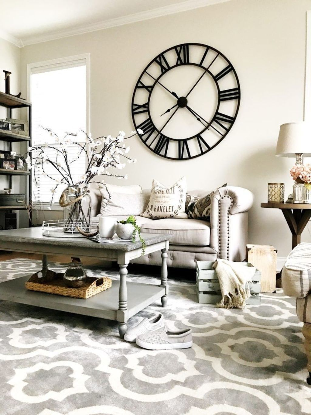Create A Timeline On Your Living Room Wall