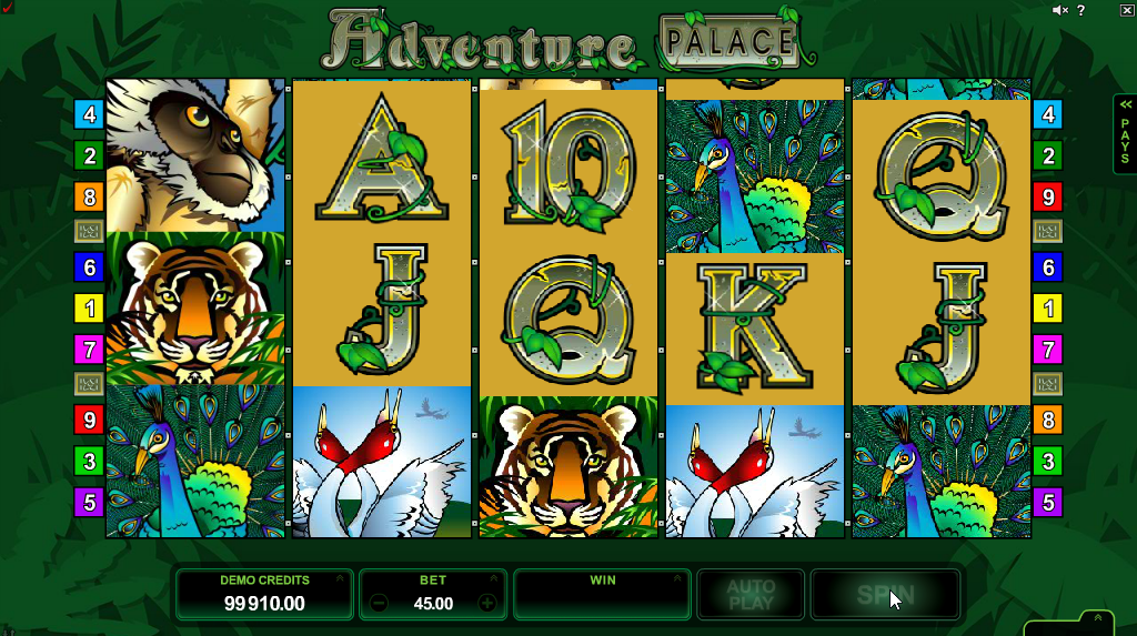 adventure palace slots game
