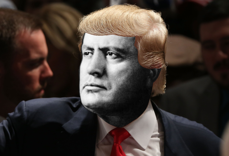 IT WOULD SEEM THAT TRUMP IS NOT A MUSSOLINI IN DISGUISE - WE'LL SOON SEE