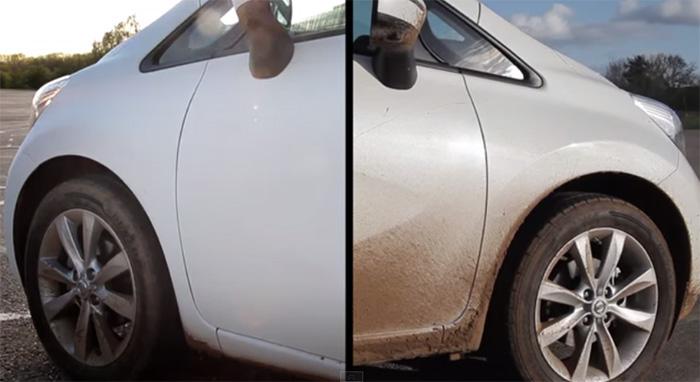 Nissan revela carro que não precisa ser lavado