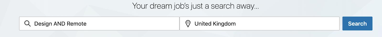 Remote Job Search