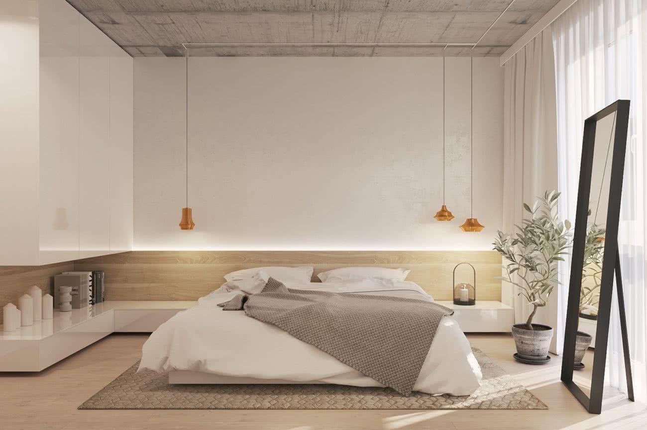 Nội thất phòng ngủ hiện đại đơn giản 5