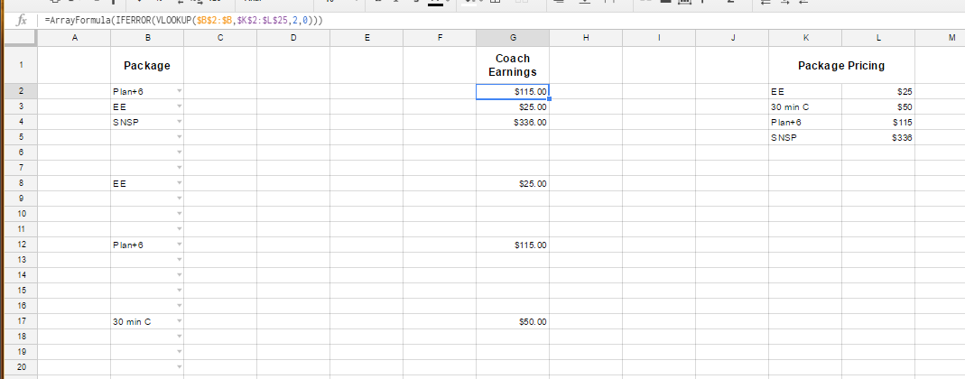 how to use dropdown in google sheets