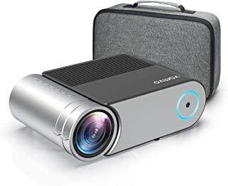 """Mini Projector, Vamvo L4200 Portable Video Projector, Full HD 1080P 200"""" Display Supported; Outdoor Movie Projector 3800 L..."""