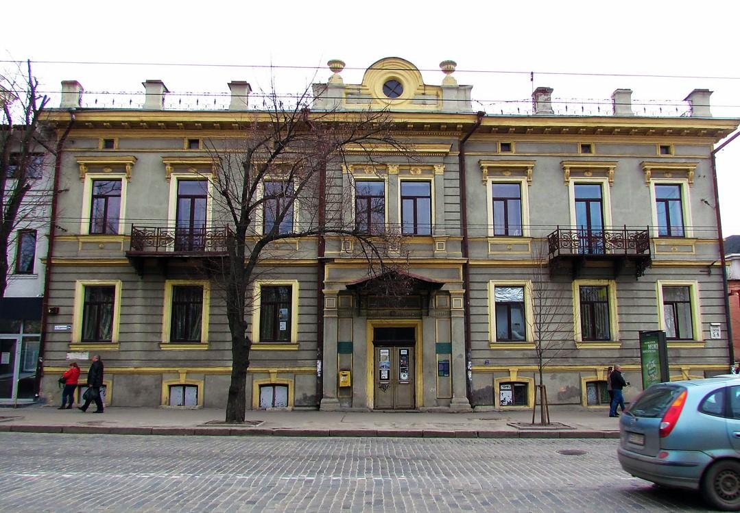 У цьому будинку за «столичних» часів було німецьке консульство
