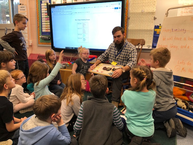 Naturalist in the classroom