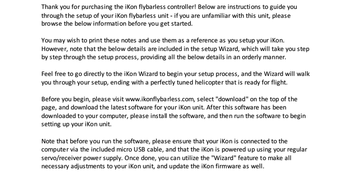 Ikon software download