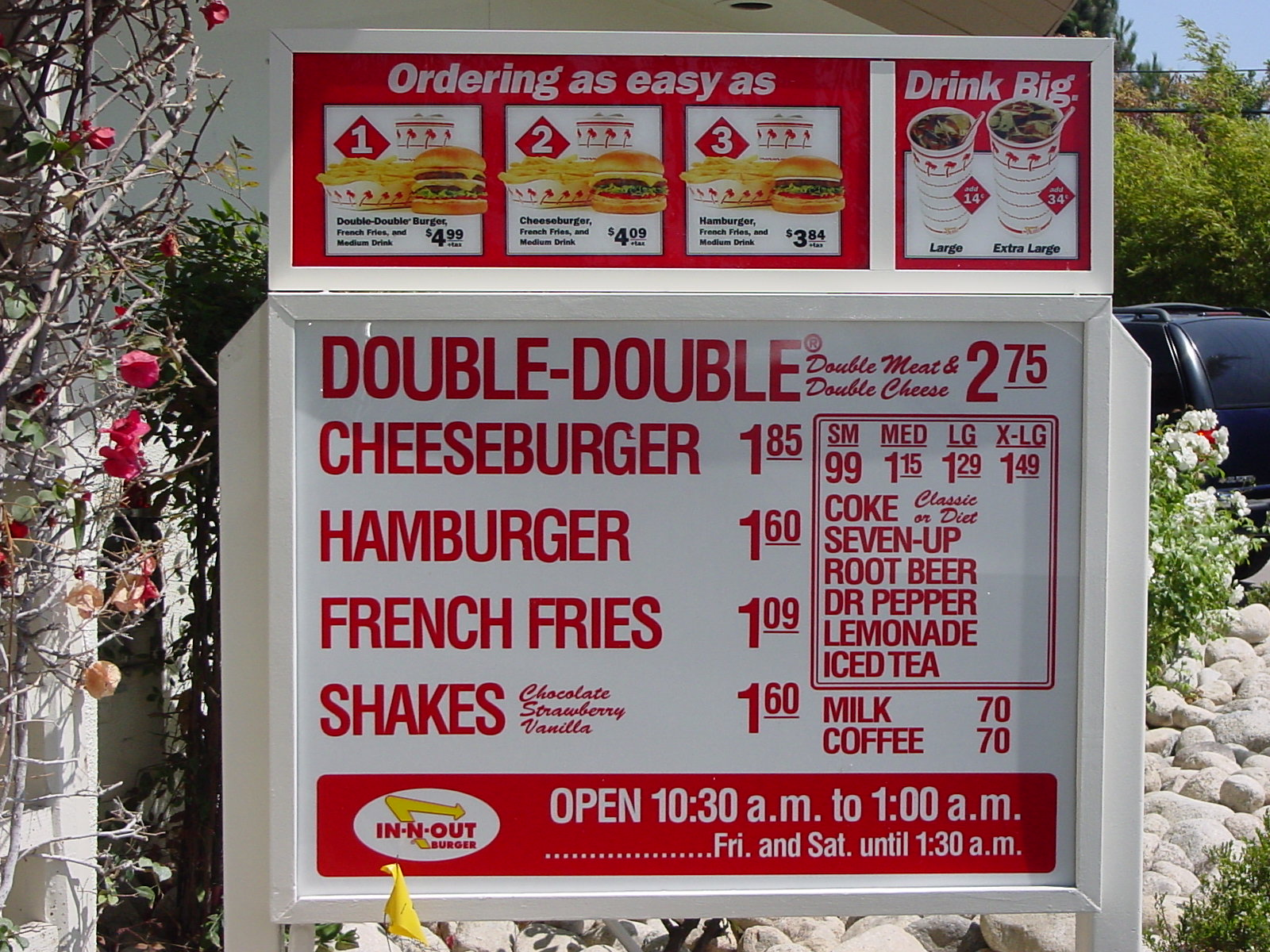 in and out burger business model