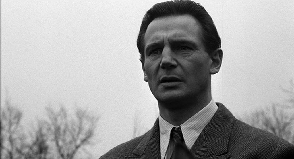 Liam Neeson i Schindler's List.