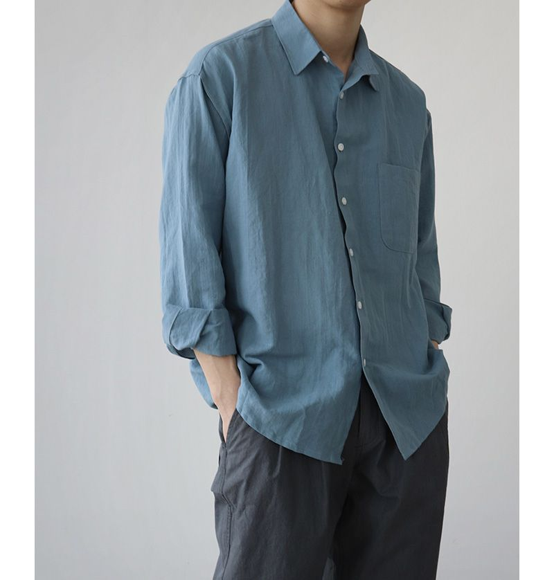 Sơ mi nam vải đũi hướng đến sự thoải mái, không phù hợp với môi trường cần sự chuyên nghiệp, sang trọng.