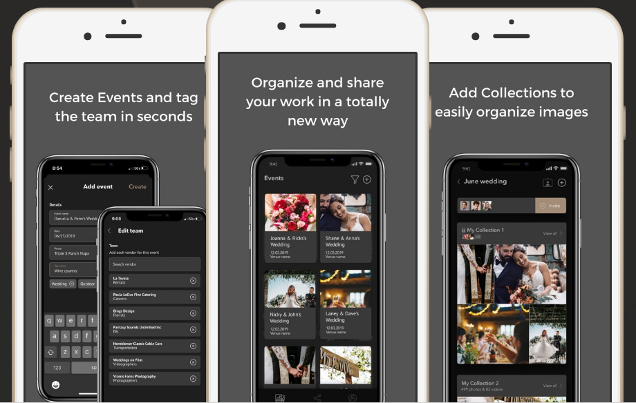 Mobile app for photographers to share their work: push notifications in app development