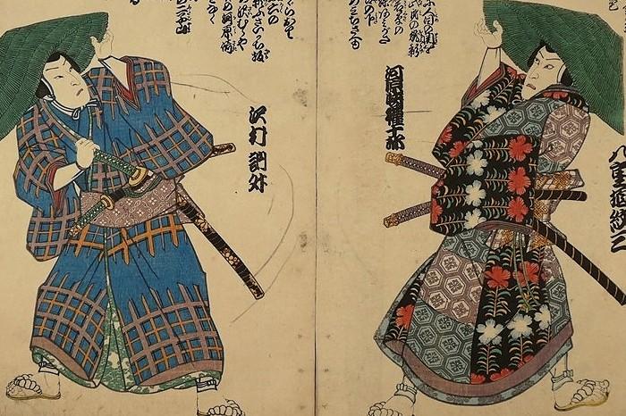 samurai ukiyoe