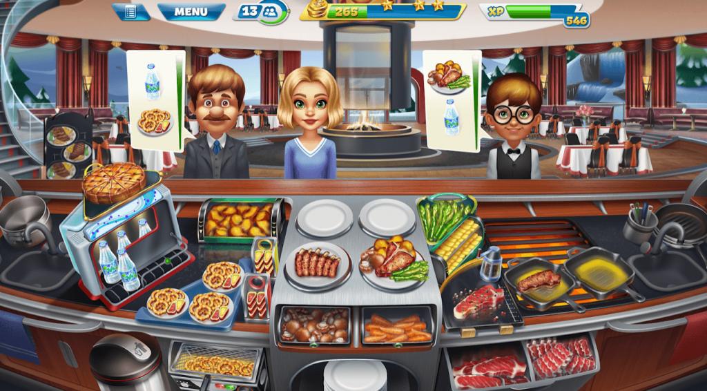 ما هي لعبة Cooking Fever