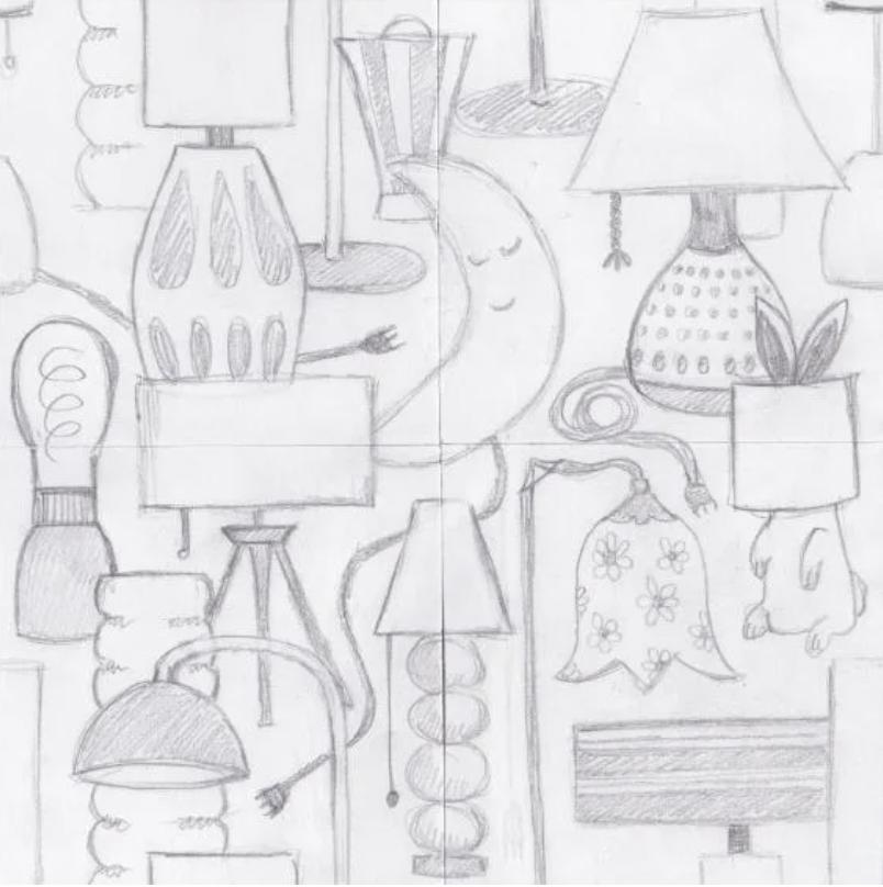 lamp drawings