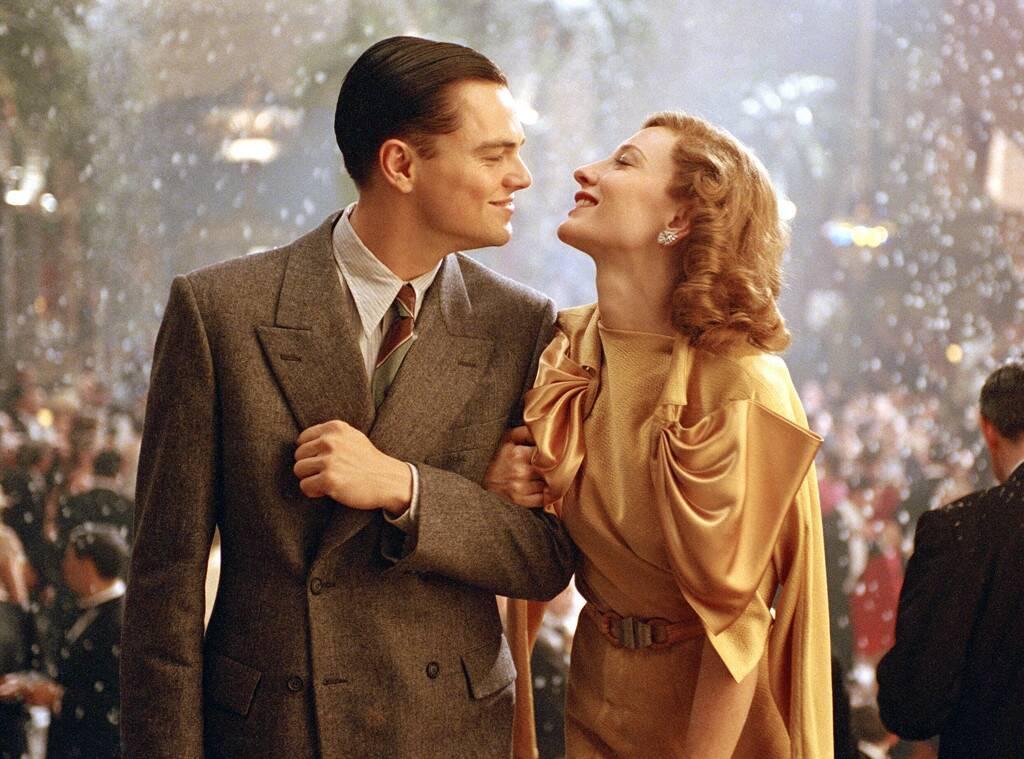 Leonardo DiCaprio y Cate Blanchett