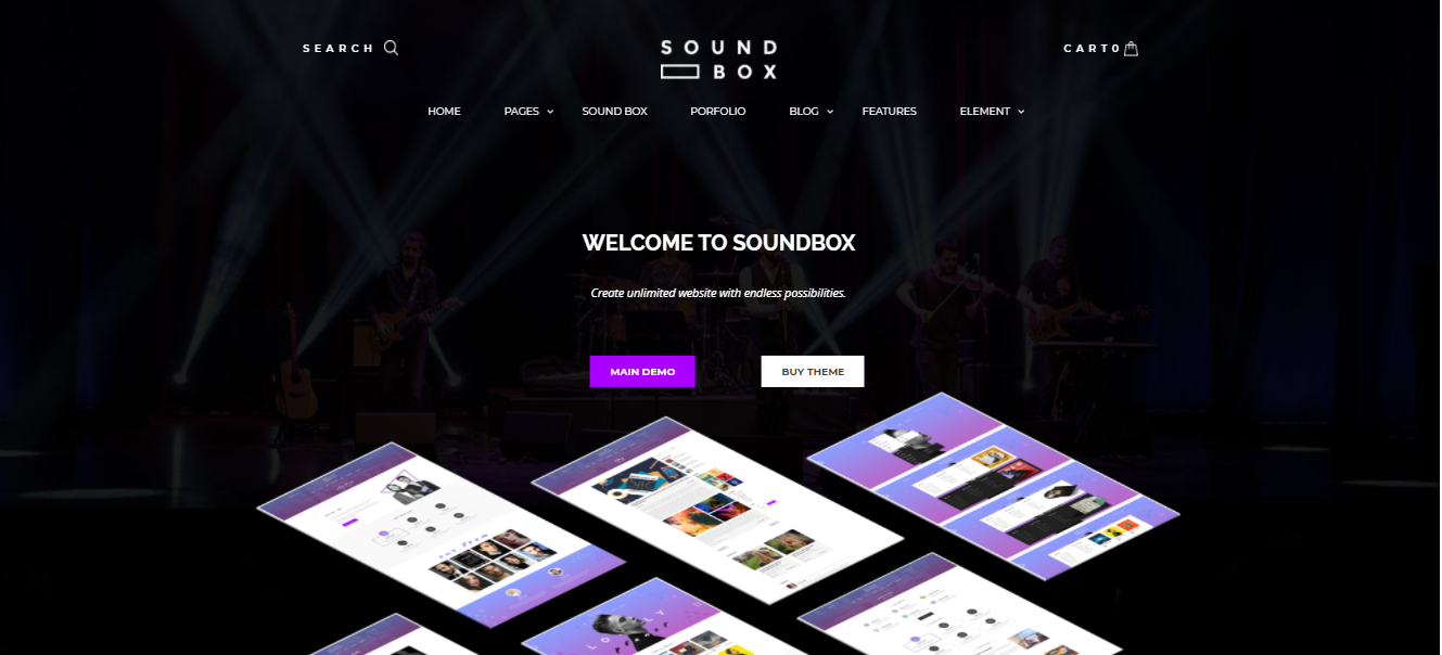 SoundBox- digital products woocommerce theme