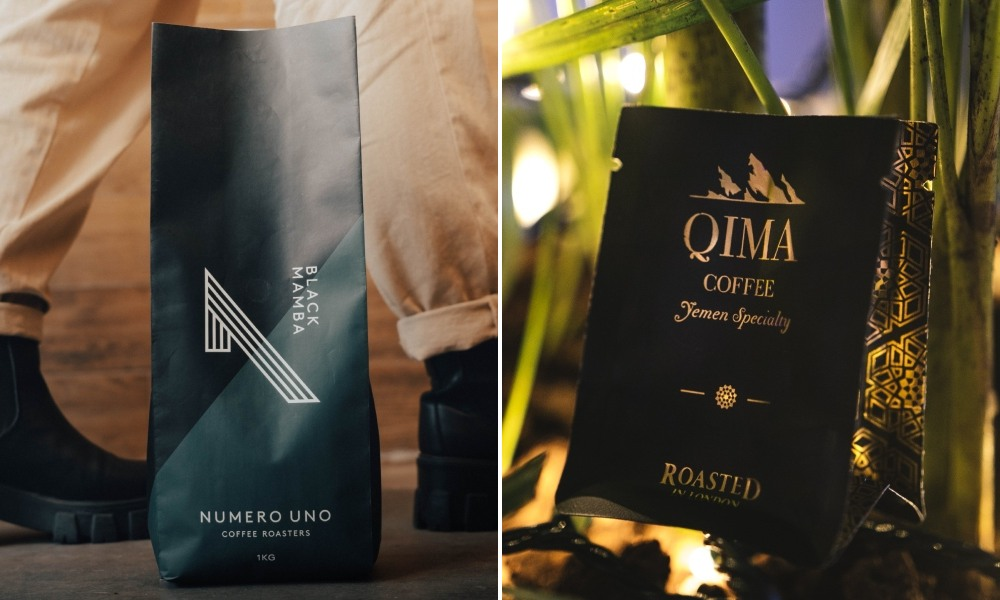 sustainable black coffee bags