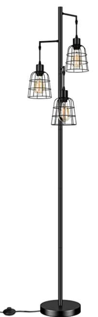 industrial floor lamp from amazon