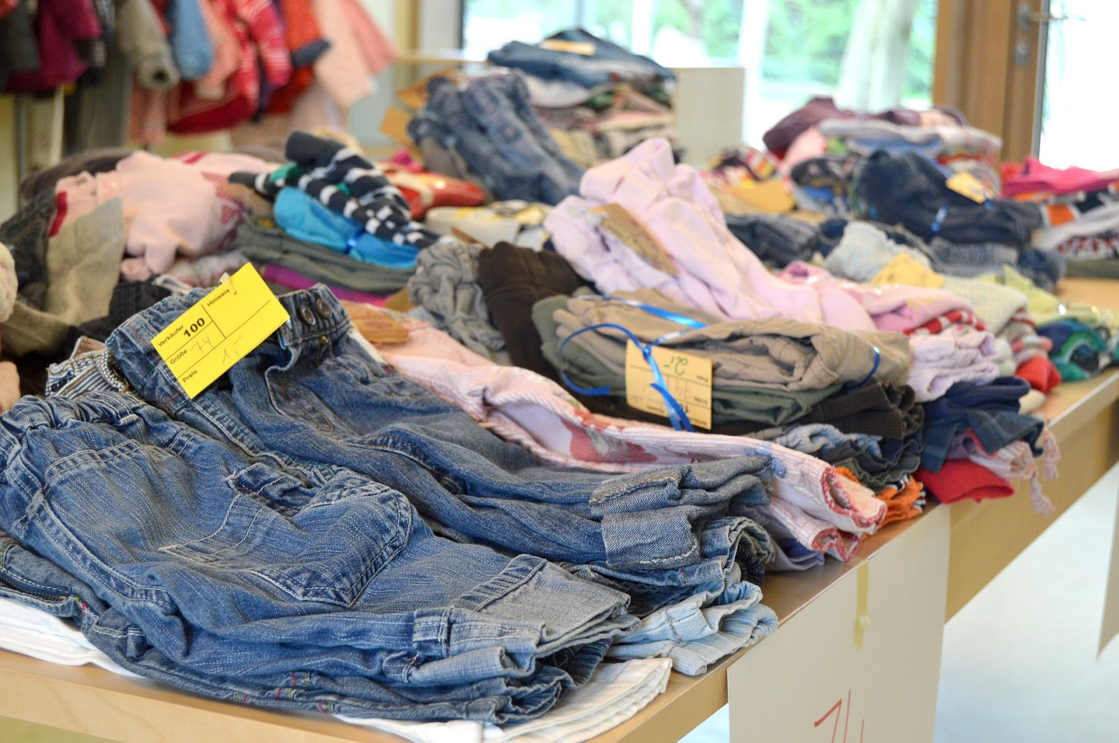 Thrift shops a source for sustainable kids clothing