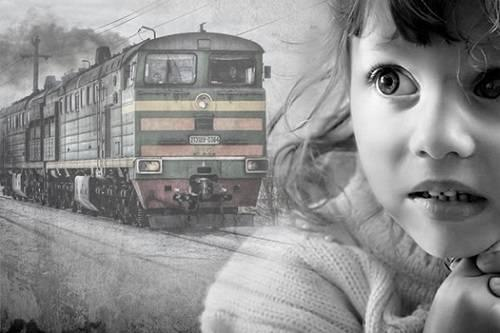 CYDEROMOPHOBIA - fear of trains, electric trains, railway transport.