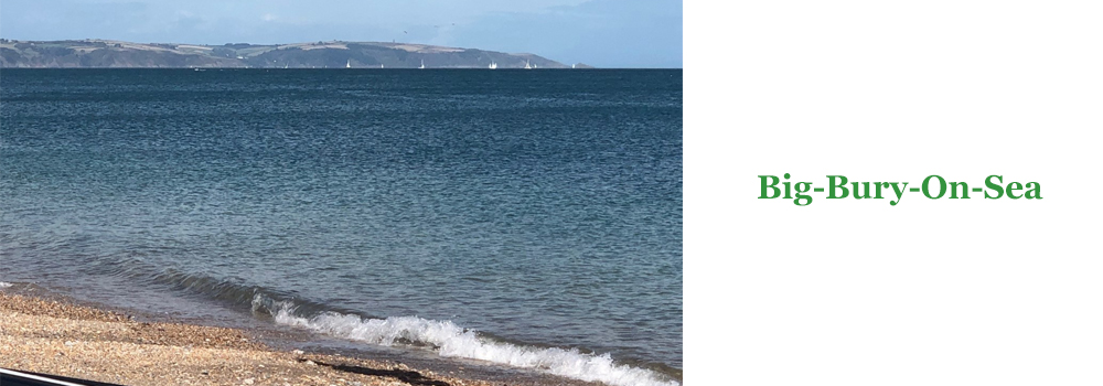 Enjoy a family day at the beach at Big Bury On The Seas. A beautiful beach to visit while on holiday in Devon.