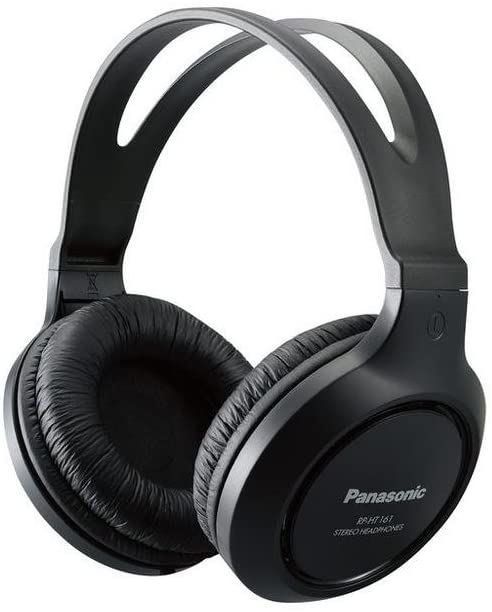 Panasonic RP-HT161-K Full-Sized Over-the-Ear Headphones