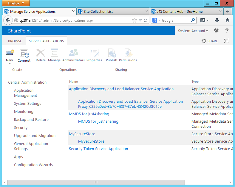 Understanding Content Type Hub (CTH) in SharePoint 2013