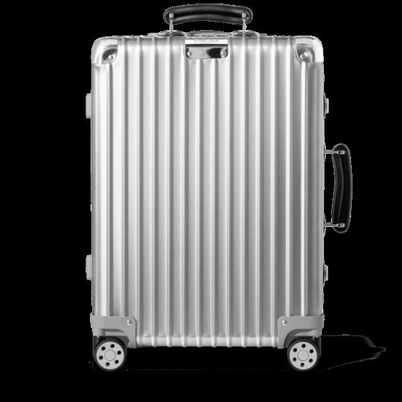 Classic Cabin Aluminium Carry-On Suitcase | Silver | RIMOWA