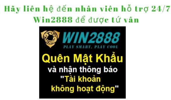 Liên hệ với nhân viên Win2888