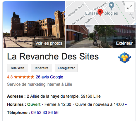 optimisation fiches google My business