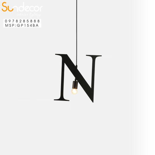 Đèn Thả Chữ N GP154BA