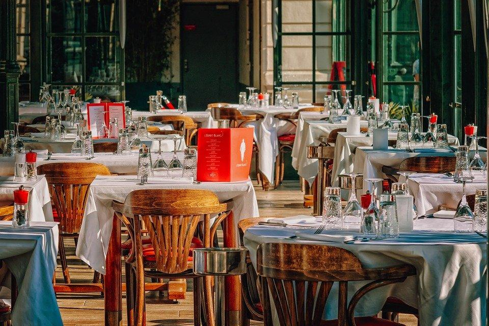 Restaurant, Gastronomy, Guest Room, Covered, Decoration