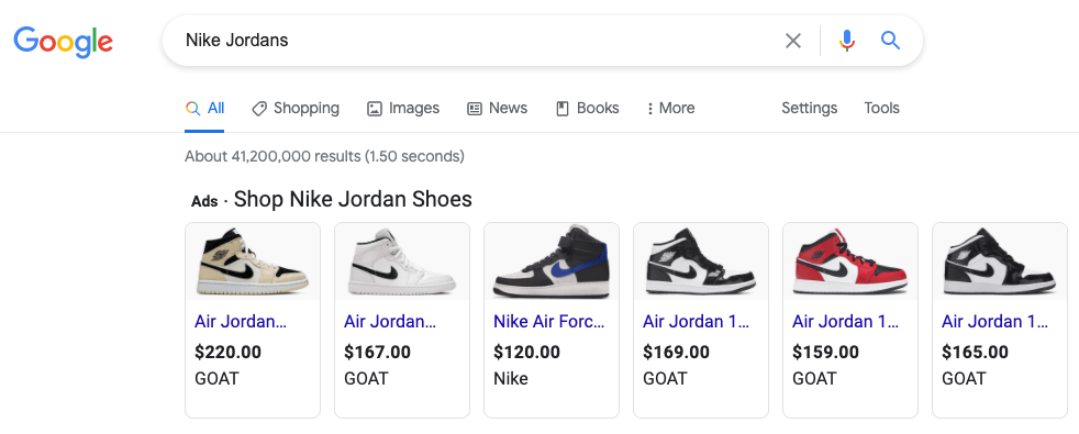 Google Ads Shopping Campaign